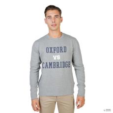 Oxford University férfi pulóver OXFORD-garbó-CREWNECK-szürke