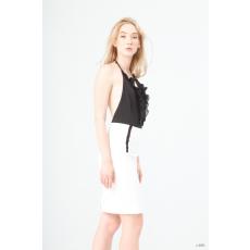 Fontana 2.0 női szoknya NUCCIA_BIANCO-fekete