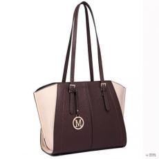 Miss Lulu London LT6614 - Miss Lulu állítható táskafül Winged bevásárló táska kézi táska kávé