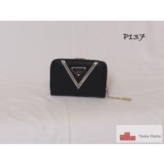 P137 Eslee fekete női pénztárca