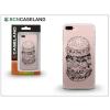 BCN Caseland Apple iPhone 7/iPhone 8 szilikon hátlap - BCN Caseland Burguer - transparent