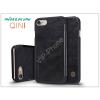 Nillkin Apple iPhone 7/iPhone 8 oldalra nyíló flipes tok - Nillkin Qin - fekete