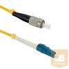 Qoltec Optic Patchcord LC/UPC-FC/UPC ; Singlemode ; 9/125 ; G652D ; Simplex ; 5m
