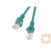 Lanberg Patchcord RJ45 cat. 6 UTP 0.5m green