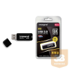 Integral Flashdrive NOIR 64GB USB3.0 110/20 MB/s r/w