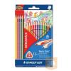 STAEDTLER Színes ceruza háromszögletű 12db4db ajándék NORIS CLUB STAEDTLER