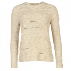 Full Circle Contrast kötött pulóver női