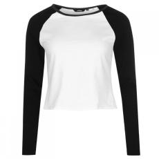 Golddigga Crop hosszú ujjú póló női