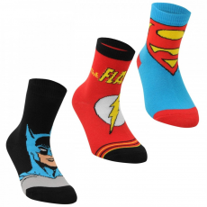 DC Comics 3 pár/csomag zokni fiú