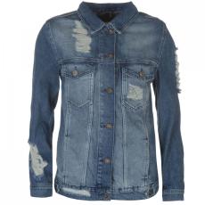 Firetrap Blackseal Distressed Denim Jacket