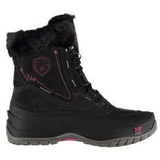 Karrimor női hótaposó csizma - Karrimor Fur Snow Boots - fekete/pink