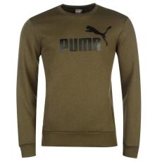 Puma férfi pulóver - Puma No1 Crew Sweater Mens zöld