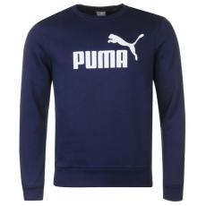 Puma férfi pulóver - Puma No1 Crew Sweater Mens sötétkék