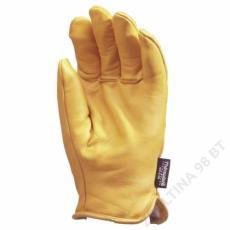 Euro Protection Bőrkesztyű, téli,alaska,sárga színmarha/thinsulate bélés -10