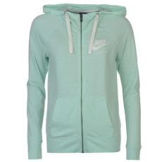 Nike női cipzáras kapucnis pulóver - Nike Vintage Full Zip Hoody - menta