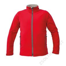 Cerva NAMSEN softshell kabát, piros