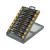 KITO CZ KITO órás csavarhúzó készlet, 15db, két komponensű ergonomikus markolat 4800802