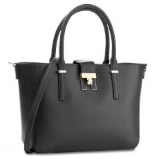 Tommy Hilfiger Táska TOMMY HILFIGER - Th Heritage Tote AW0AW04364 002