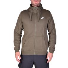 Nike M Nsw Hoodie Fz Flc Club férfi kapucnis cipzáras pulóver keki L