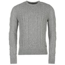 Firetrap Férfi kötött pulóver szürke XL