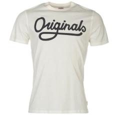 Jack and Jones Originals Jorwall férfi póló fehér S