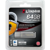 Kingston DTLPG3/64GB USB 3.0 Pendrive - Titkosított - 64GB - Fém