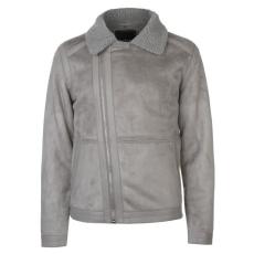 Pierre Cardin férfi kabát - Pierre Cardin Biker Jacket Mens Grey