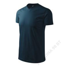 ADLER Heavy V-neck ADLER pólók unisex, tengerkék