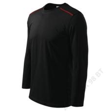 ADLER Long Sleeve ADLER pólók unisex, fekete