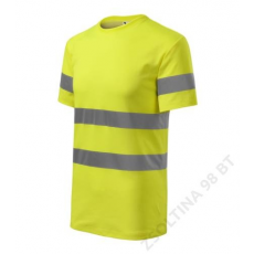 ADLER HV Protect RIMECK pólók unisex, fényvisszaverő sárga