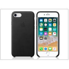 Apple Apple iPhone 8/iPhone 7 eredeti gyári bőr hátlap - MQH92ZM/A - black tok és táska