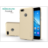 Nillkin Huawei P9 Lite Mini hátlap képernyővédő fóliával - Nillkin Frosted Shield - gold