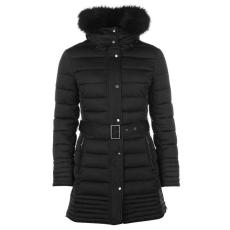 Firetrap női kabát - Firetrap Long Luxury Bubble Jacket Ladies Black