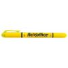 """FLEXOFFICE Szövegkiemelő, 1,0/4,0 mm, kétvégű, FLEXOFFICE """"HL01"""", sárga"""