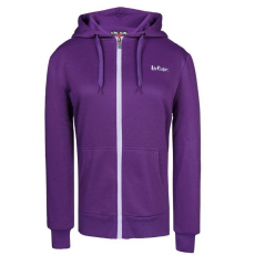 Lee Cooper női cipzáras pulóver - Lee Cooper Zip Thru Hoody Ladies Purple