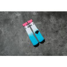 HUF Apparel Socks Make Em Cry Crew Sock Aqua