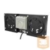 Canovate CWA-9-2002 Ventillátor egység fali rack szekrényhez, 2 egységes + termosztát
