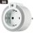 GAO LED irányfény dugalljal és alkonykapcsolóval, fehér, 230V, 16A