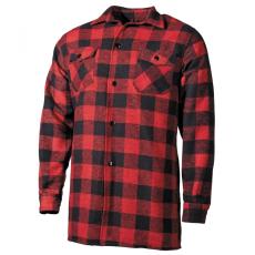 FOX OUTDOOR Lumberjack - Piros/Fekete - M