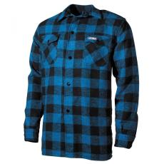 FOX OUTDOOR Lumberjack - Kék/Fekete - M