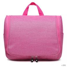 Miss Lulu London LT1757-D PK - Miss Lulu try utazó táska Plain Print rózsaszín