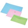Nebuló Irattartó tasak, A4, PP, patentos, PANTA PLAST, pasztell rózsaszín