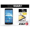 Eazyguard Huawei Y7/Y7 Prime gyémántüveg képernyővédő fólia - Diamond Glass 2.5D Fullcover - fekete