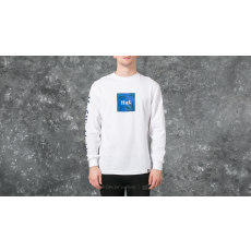 HUF Apparel Longsleeve T-Shirt PLP Long Sleeve Woven Label Tee White