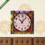 Képáruház.hu Vászonkép óra, Premium Kollekció: Colorful buttons(25x25 cm, C01)