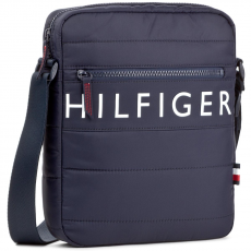 Tommy Hilfiger Válltáska TOMMY HILFIGER - Light Nylon Reporter AM0AM02823 413