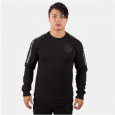 SAINT THOMAS CREWNECK SWEATSHIRT - BLACK (BLACK) [S]