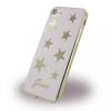 Guess iPhone 7/8 Stars hátlap, tok, rózsaszín
