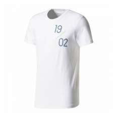 Adidas Real Madrid fĂŠrfi póló Graphic Tee white - XL