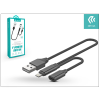 Devia lightning töltő- és adatkábel + adapter egyidőben történő töltéshez és zenehallgatáshoz - Devia Jet Audio Switching 2.4A - black